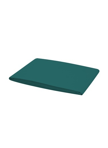 Bella Maison %100 Pamuk Saten Tek Kişilik Lastikli Çarşaf Lacivert 100x200 cm Yeşil